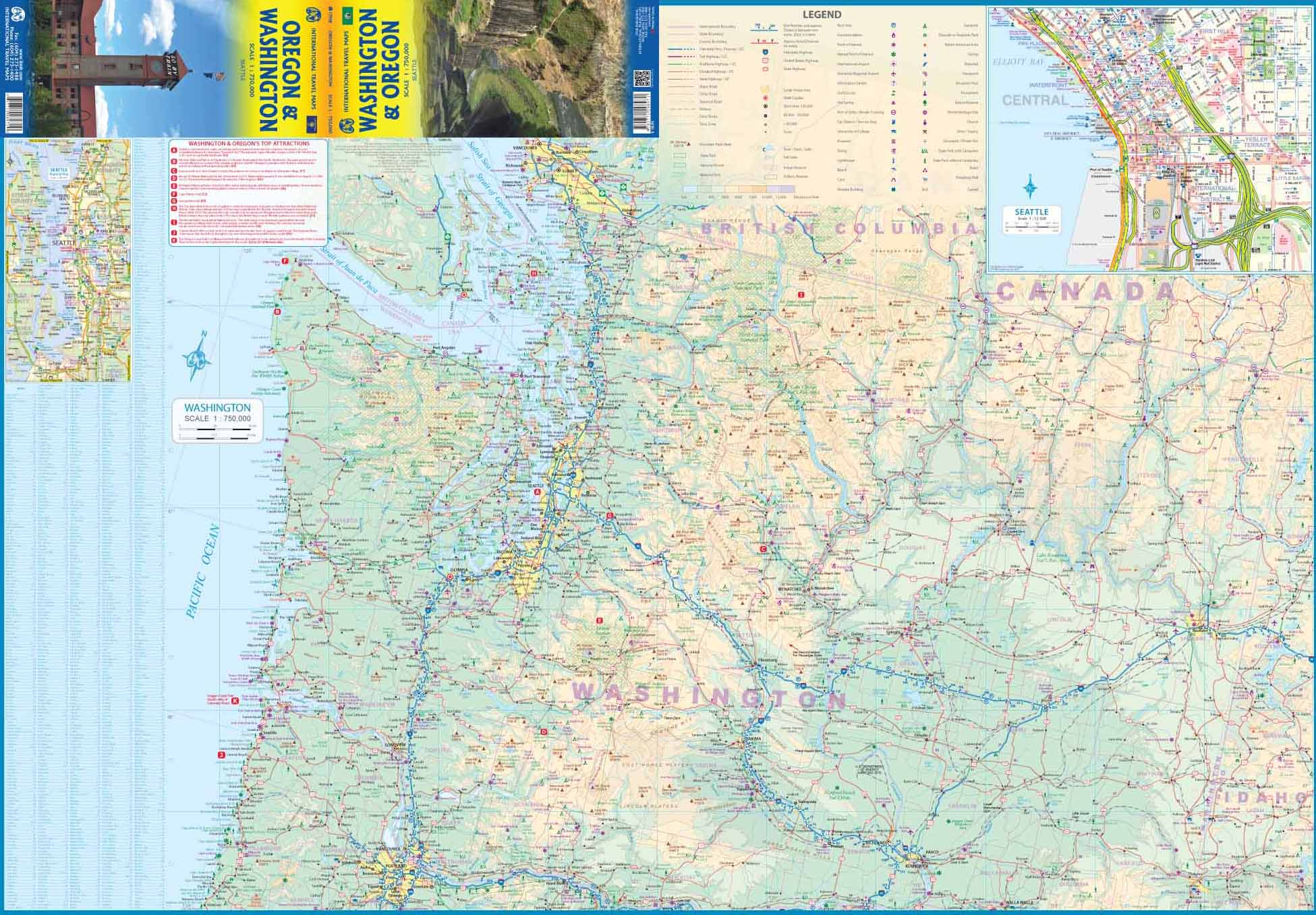 Picture of: Alaska Travel Reference Map